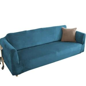 Thick Velvet Sofa Covers Corner Slipcovers All inclusive Stretch Couch Covers
