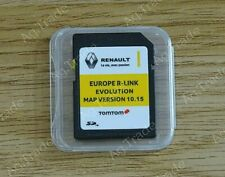 NEW RENAULT TomTom R-LINK V10.15 SD CARD EUROPE and UK MAP 2019 - 2020