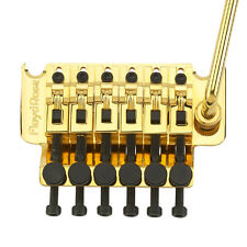 Authentic Floyd Rose Original Tremolo Kit, Gold with R4 Locking Nut
