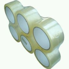 """6 Rolls 2"""" X 110 yard 330 ft.  Clear Packing Sealing Tape"""
