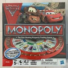 Monopoly Disney Pixar Cars Racetrack Game