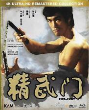 Fist of Fury Blu Ray 4K Ultra HD Remasterd Bruce Lee NEW Eng Sub