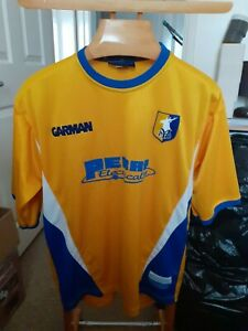 MANSFIELD TOWN   FOOTBALL  SHIRT    SIZE  ADULTS  LARGE