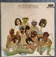 """ROLLING STONES⚠️Top Vinyl- 1975-12"""" LP-METAMORPHOSIS-PAX ISK 1123-Israel"""