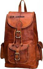 Women's Vintage Leather Laptop Backpack Shoulder Day pack Bag Sling Rucksack Bag