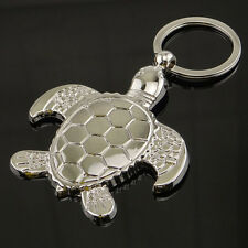 New Sea Turtle Keyring Keychain Classic 3D Pendant Key Bag Chain Creative  New.