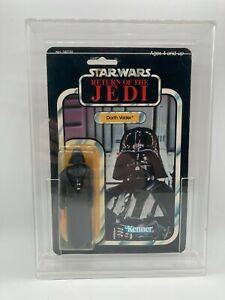 Vintage Star Wars Darth Vader Made In Mexico MOC Figure ROTJ 77A Kenner 1983