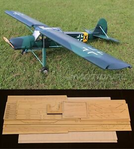 "70""Ws FIESELER Fi-156 STORCH Rc Plane short kit-partial kit & plans, PLEASE READ"