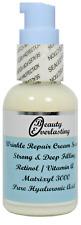 2% Retinol-Vitamin A Cream Serum with Matrixyl 3000,Pure Hyaluronic Acid 1.2oz