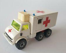SIKU 2218 Unimog DRK Sanitätswagen