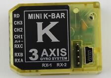 KBAR MINI K-BAR YELLOW K8 three-axis gyroscope 3 Axis Gyro Flybarless flight