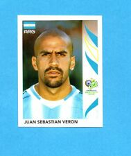 PANINI-GERMANY 2006-Figurina n.183- VERON - ARGENTINA -NEW BLACK