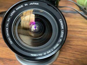 Canon 19mm f3.5 Ex++++condition