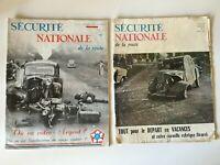 Revista Seguridad Nacional de La Carretera 1956-1957