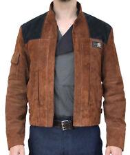 Han Solo Alden Ehrenreich Suede Jacket by Magnoli Clothiers