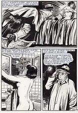 OSS 117 A L'ECOLE (JEAN BRUCE/LEOPOLD SANCHEZ)PLANCHE ORIGINALE Page 39 EROTIQUE
