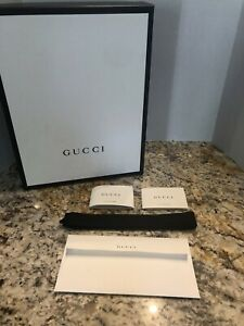 GUC Gucci Box, Ribbon, Booklet, and Receipt Holder