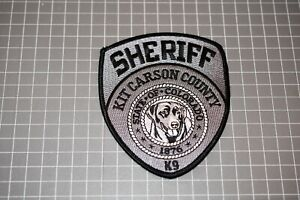 Kit Carson County Colorado Sheriff K-9 Patch (S03-1)