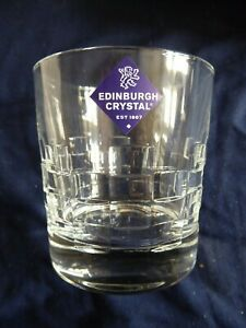 PAIR OF EDINBURGH  CRYSTAL WHISKY GLASSES....SKIBO PATTERN