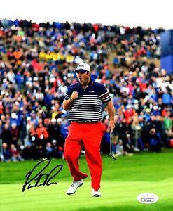 PATRICK REED Autographed SIGNED 8X10 U.S.A. RYDER CUP PHOTO 2014 JSA CERTIFIED