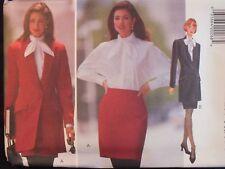 OOP BUTTERICK 3690 MS Jacket Blouse & Skirt PATTERN 6-8-10/12-14-16/18-20-22 UC
