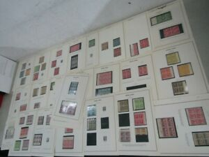 Nystamps E Much mint NH US stamp & block collection Album page