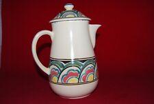 Honiton Devon Pottery COFFEE POT Hand Painted.