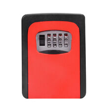 New Wall Mount Key Box & 4 Digit Combination Home Security Lock Safe Storage