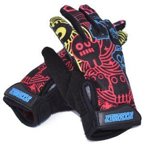 ZippyRooz Robots Toddler/ Little Kids Bike Gloves Full Long Finger Girls Boys