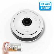1080P WIFI Wireless Panoramic Mini IP Camera 2-Way Talk  Motion Detect CCTV Cam