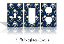Buffalo Sabres Light Switch Covers Hockey NHL Home Decor Outlet