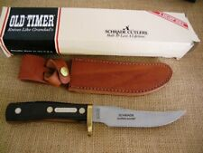 SCHRADE OLD TIMER MOUNTAIN LION 160OT USA MADE FIXED BLADE KNIFE