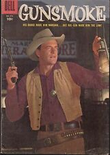 FOUR COLOR  #679 1956  DELL -GUNSMOKE [#1 APP] PHOTO-c -MATT DILLON TV/ WESTERN