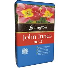 Levington John Innes No.3 Mature Plant Compost Flower Repotting Soil 25 litres