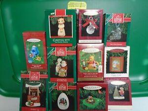 Small Hallmark Keepsake Ornaments