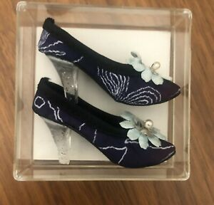 "Vintage Cissy Revlon Italian Style Box & Shoes For 19""-20"" High Heel Doll"