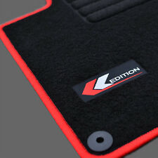 TAPIS SOL MOQUETTE EDITION ROUGE SPECIFIQUE VW GOLF 6  CARAT CONFORTLINE