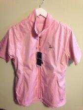 Nwt Sunice Women's Britanny Short Sleeve Full Zip Jacket Size Medium W Club Logo