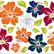 Wall Pops Tropical Island Fusion Squares Stickers Decals WPB90258