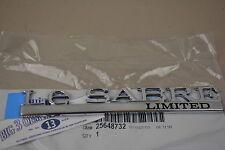 00-05 Buick LeSabre Rear Lid Lesabre Limited Nameplate emblem new OEM 25648732