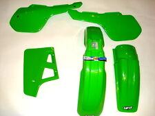 KAWASAKI KX125 87 plástico KIT 1 Motocross VERDE UFO