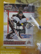 Starting Lineup 1998Collectible Hockey Nikolai Khabibulin Sports Figurine & Card