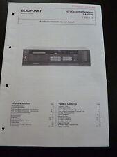 Original Service Manual Kundendienstschrift Blaupunkt  CA-6300