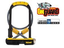 OnGuard Bulldog 8012c Combinación Grillete Candado + CABLE BICICLETA D en U