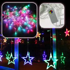 LED Sterne Lichterkette Beleuchtung Weihnachten Hochzeit Party Festival