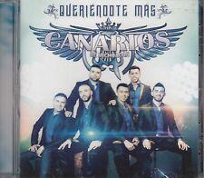 Los Canarios de Michoacan Queriendote Mas CD New Nuevo Sealed