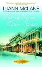 MARRY ME ON MAIN STREET - MCLANE, LUANN - NEW PAPERBACK BOOK