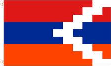 3x5 Nagorno Karabakh Republic Polyester Flag Azerbaijan Armenia Outdoor Banner