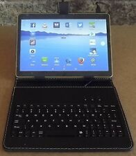"""Keyboard Stand and Leather Case Cover For 7'' / 9'' /10.1"""" Android Tablet"""