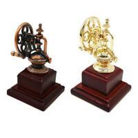 1:12 DOLLHOUSE Accessories Toy Miniature Furniture Vintage Wooden Coffee Machine